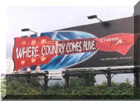 where country comes alive billboard